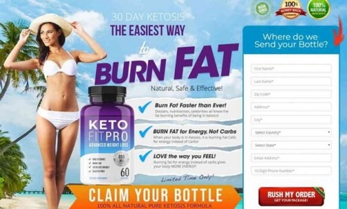 Keto Fit Pro – Does It Work? Read Full Product Reviews & Where To Claim !