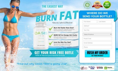 Oasis Trim Keto {Effective Weight Loss Pills} Risk Free Trial – Hurry Up!