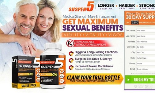 How To Suspen 5 Male Enhancement Work? Read Full Product Reviews!