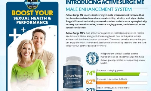 Active Surge Male Enhancement Pills – How Does It Work?