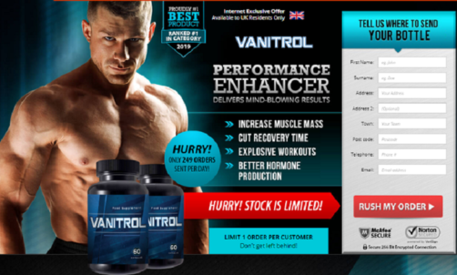VANITROL Male Enhancement Pills – Benefits & Side Effects Reviews!
