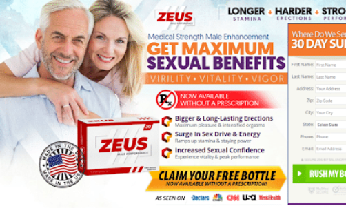 Zeus Male Enhancement – Read Price, Reviews, Benefits, Free Trial & Where to Buy