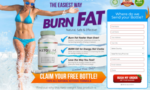 Keto Slim Max Reviews 2020