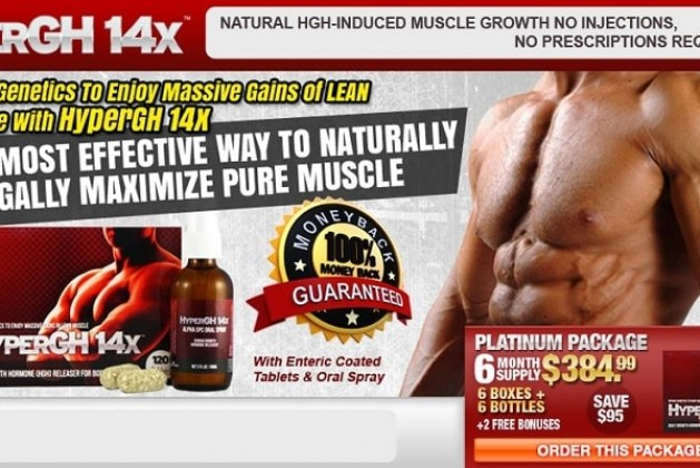 HyperGH 14x Muscle Booster