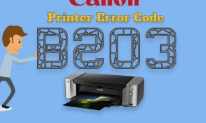 Steps To Fix Canon Printer Error Code b203