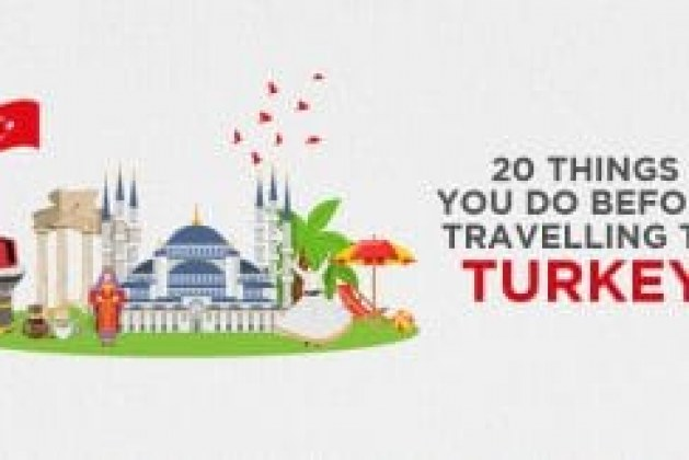 20 Things you do before traveling to turkey