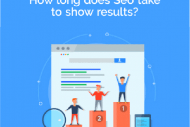 How long does Seo take to show results?