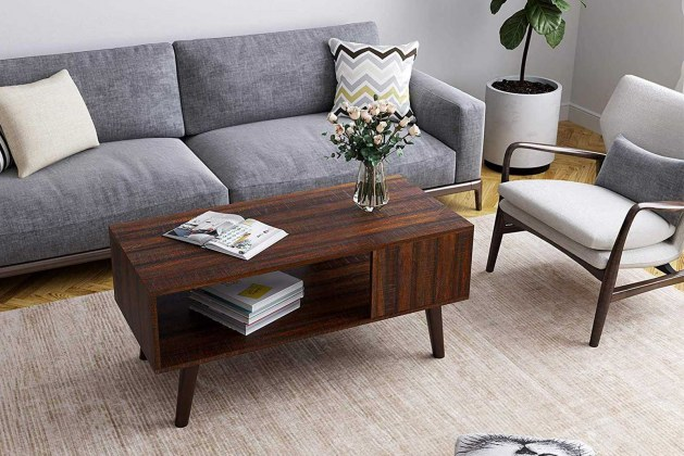 Retro Coffee Table Cocktail Table