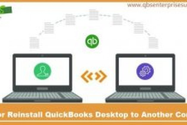 Move or Reinstall QuickBooks Desktop to Another Computer