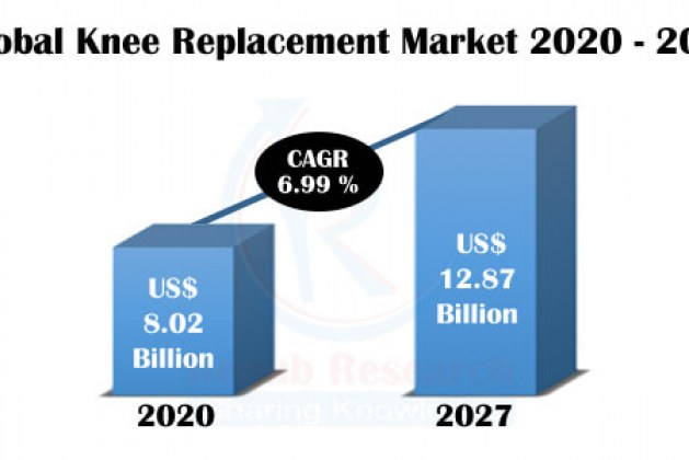 Knee Replacement Market By Products, Companies, Global Forecast by2027