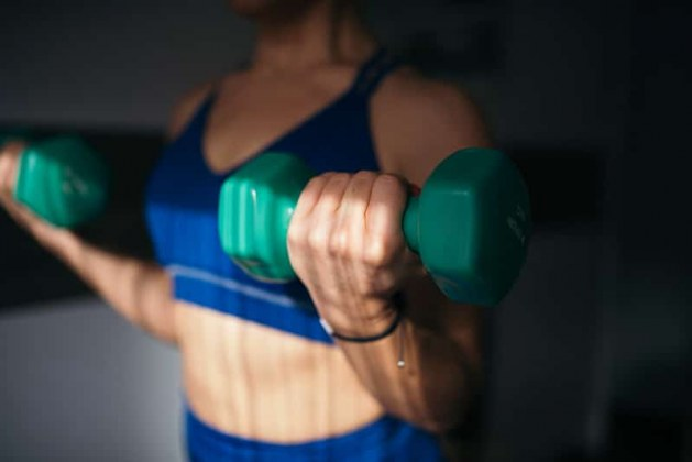 what muscles do dumbbells work
