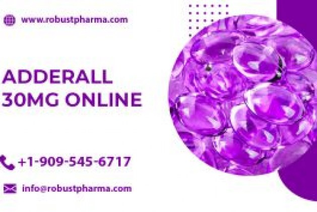 Buy Adderall 30 mg online with or without prescription