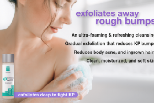 Trust Touch's KP Exfoliating Body Wash to Manage Keratosis Pilaris